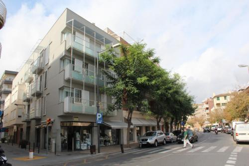 Cambrils City Center Map and Hotels in Cambrils City Center Area