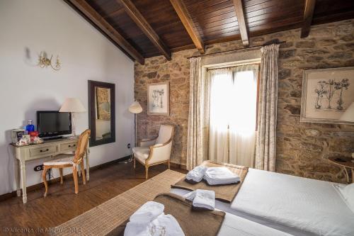 Habitación Doble - 1 o 2 camas - Uso individual Hotel Rustico Lugar Do Cotariño 13