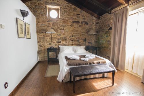 Habitación Doble - 1 o 2 camas - Uso individual Hotel Rustico Lugar Do Cotariño 14