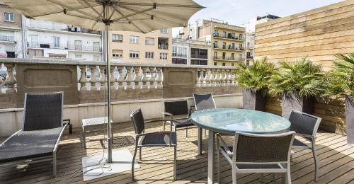 One-Bedroom Apartment - Penthouse  Hotel Murmuri Barcelona 5