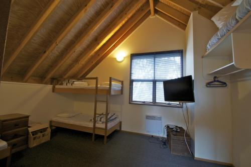 Rom med køyeseng med delt bad (Bunk Room with Shared Bathroom)