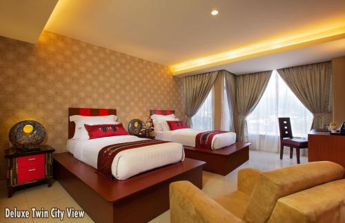 Deluxe Twin Room with CityView