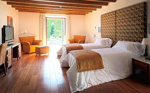 Suite Junior con terraza Sa Cabana Hotel & Spa - Adults Only 1
