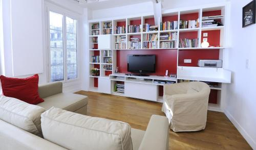 Appartement lumieux au coeur de Paris