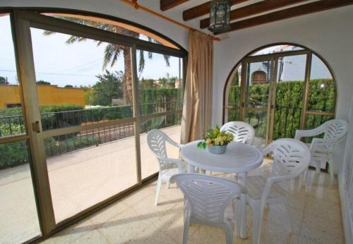 Balcony/terrace Two-Bedroom Apartment with pool in Alicante
