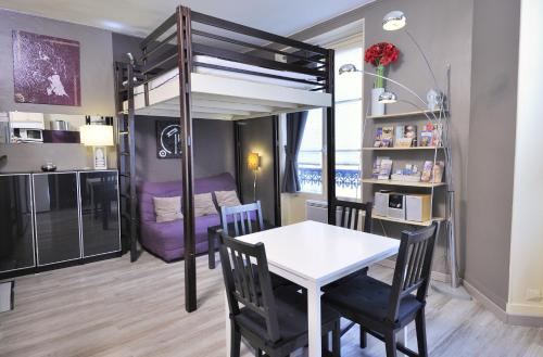 Studio cosy pour 2 personnes dans le Marais