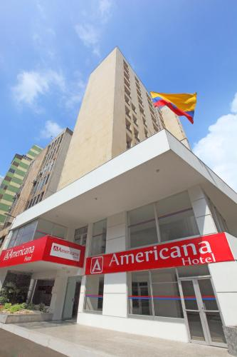 Hotel Americana front view