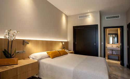 Doppel- oder Zweibettzimmer Hotel Barrameda 1