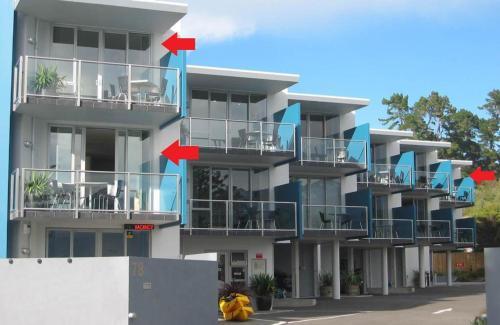 Apartments Kaikoura front view
