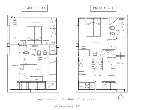 Standard Three-Bedroom Apartment