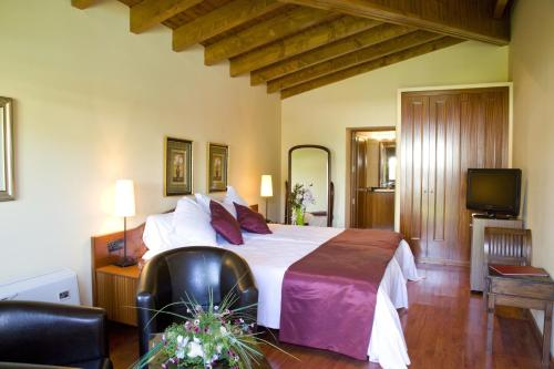 Habitación Doble Superior con chimenea y acceso al spa Hotel Del Lago 5