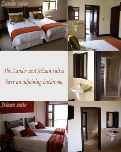 Zander Twin Room Tuscanview Guest House