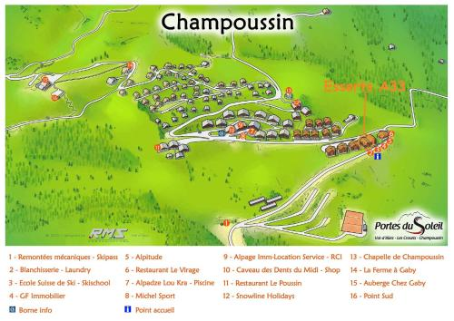 Esserts A33, Champoussin
