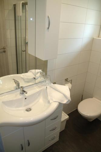 Tweepersoons- of twinkamer (2 aparte bedden) met douche (Double Or Twin Room with Shower)