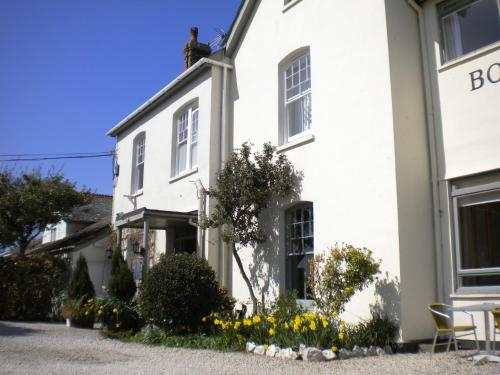 Photo of Bossiney House Hotel Hotel Bed and Breakfast Accommodation in Tintagel Cornwall