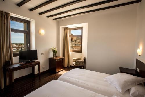 Doppel-/Zweibettzimmer mit Stadtblick Palacio del Infante Don Juan Manuel Hotel Spa 3