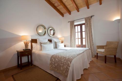 Suite Apartamento de 1 dormitorio con balcón pequeño Hotel Apartament Sa Tanqueta De Fornalutx - Adults Only 1