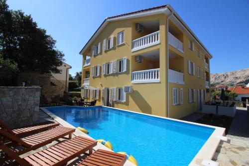 Отель Apartments Gorica 4 звезды Хорватия