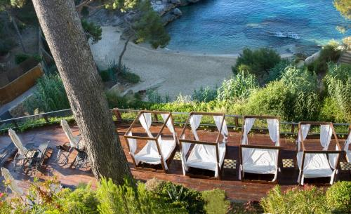 Habitación Triple Superior con vistas al mar (2 adultos + 1 niño)  Hotel & Spa Cala del Pi 4