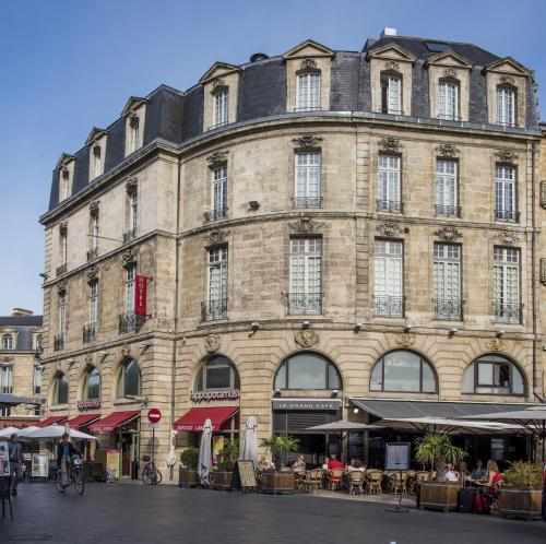 Coeur de city hotel bordeaux clemenceau bordeaux france for Hotels bordeaux
