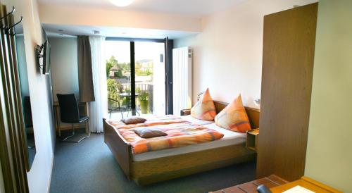 Komfort-Doppelzimmer mit Balkon (Comfort Double Room with Balcony)