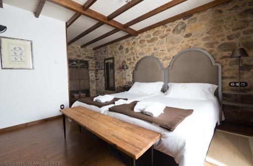 Habitación Doble - 1 o 2 camas - Uso individual Hotel Rustico Lugar Do Cotariño 15