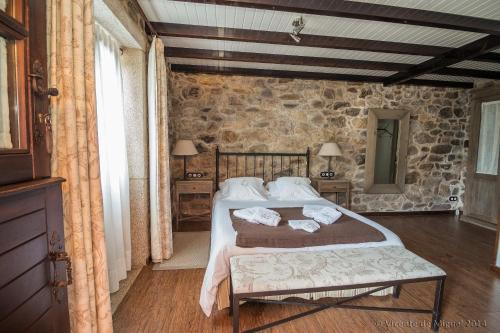 Habitación Doble - 1 o 2 camas - Uso individual Hotel Rustico Lugar Do Cotariño 16