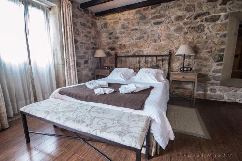 Habitación Doble - 1 o 2 camas - Uso individual Hotel Rustico Lugar Do Cotariño 17