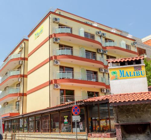 Hotel Malibu front view