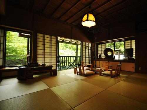 Luxury House with Tatami Area and Open-Air Bath