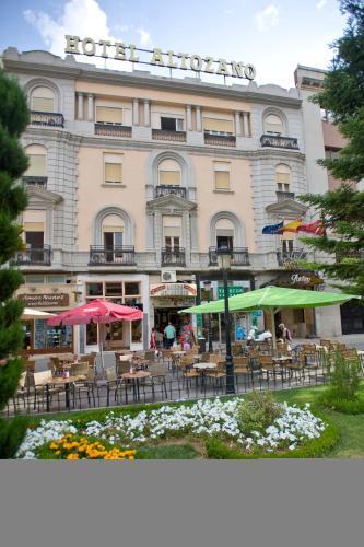 Отель Hotel Altozano 1 звезда Испания