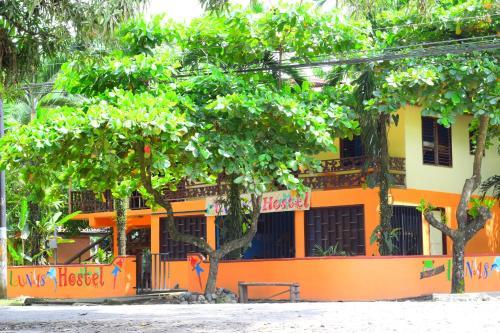 Lunas Hostel front view