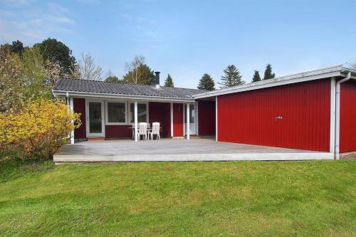 Two-Bedroom Holiday Home Alfestien 08