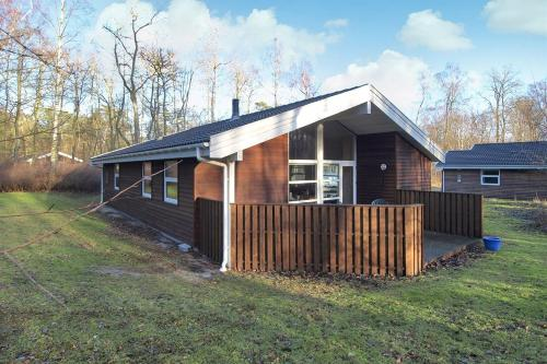 Four-Bedroom Holiday Home Skovkanten with a Sauna 06