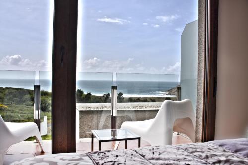 Doppel-/Zweibettzimmer mit Meerblick Hotel Naturaleza Mar da Ardora Wellness & Spa 1
