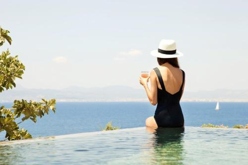Suite con piscina privada Cap Rocat 3