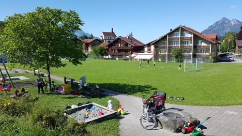 Отель Hotel Fluematte 3 звезды Швейцария