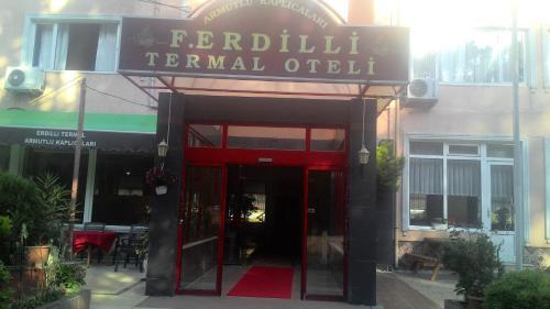 F.Erdilli Termal Hotel front view