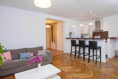 Отель Parisian Home - Appartements Porte Maillot - Ternes-Batignolles 0 звёзд Франция