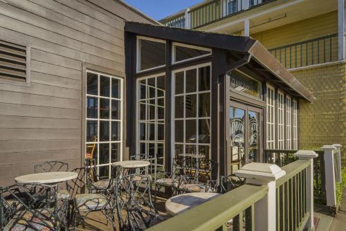 Mendocino Hotel Garden Mendocino North Coast California Rentals And Resorts