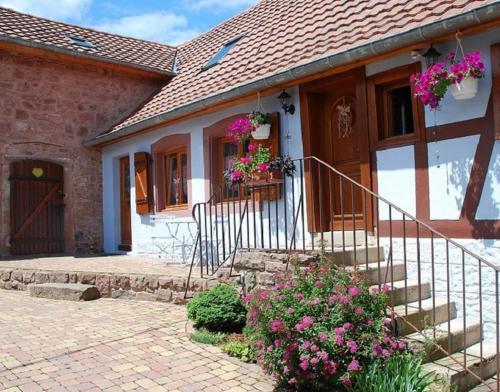 La Maison Bleue En Alsace