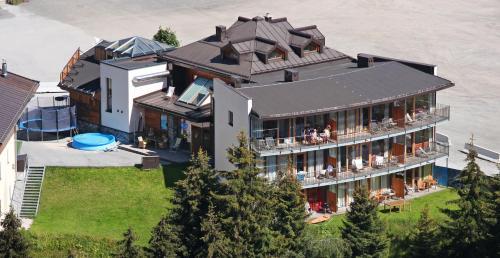 Panorama-Appartements - Apartment mit 1 Schlafzimmer und Balkon