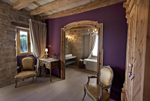 Habitación Doble con vistas a la montaña - 1 o 2 camas - No reembolsable La Vella Farga Hotel 8
