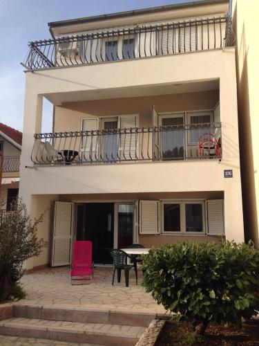 Beautiful seaside appartment front view
