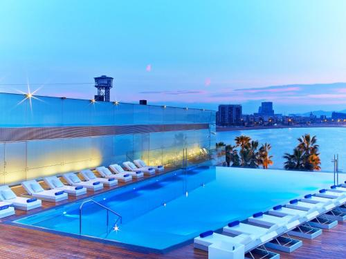 Rooms: W Hotel Barcelona, Barcelona, Spain Overview