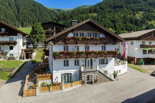 Apartments Gannerhof - Apartment mit 1 Schlafzimmer und Balkon