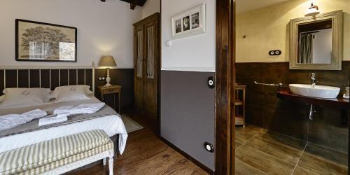 Habitación Doble - 1 o 2 camas - Uso individual Hotel Rustico Lugar Do Cotariño 20
