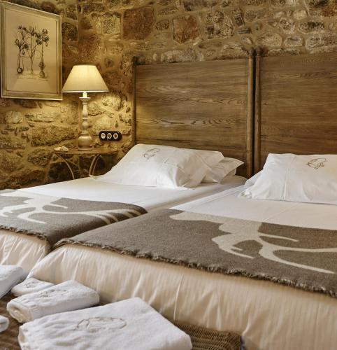 Habitación Doble - 1 o 2 camas - Uso individual Hotel Rustico Lugar Do Cotariño 22