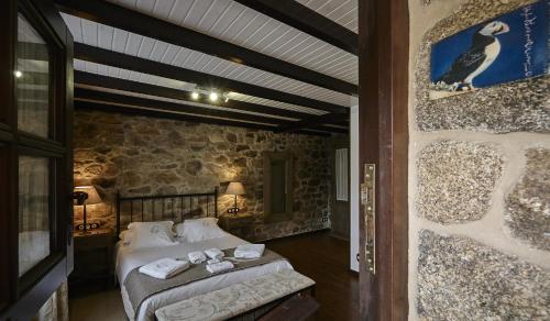 Habitación Doble - 1 o 2 camas - Uso individual Hotel Rustico Lugar Do Cotariño 25