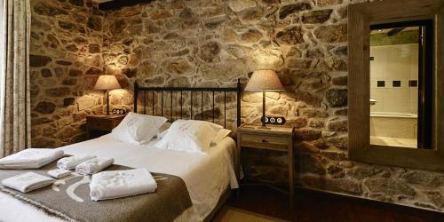 Habitación Doble - 1 o 2 camas - Uso individual Hotel Rustico Lugar Do Cotariño 27